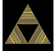 Aztec triforce Photographic Print