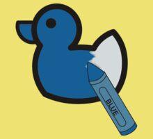 BLUE duck Baby Tee