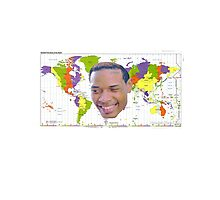 Fetty Map Photographic Print