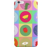 cartoon flowers iPhone Case/Skin