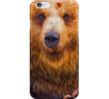 bear - hulk iPhone Case/Skin