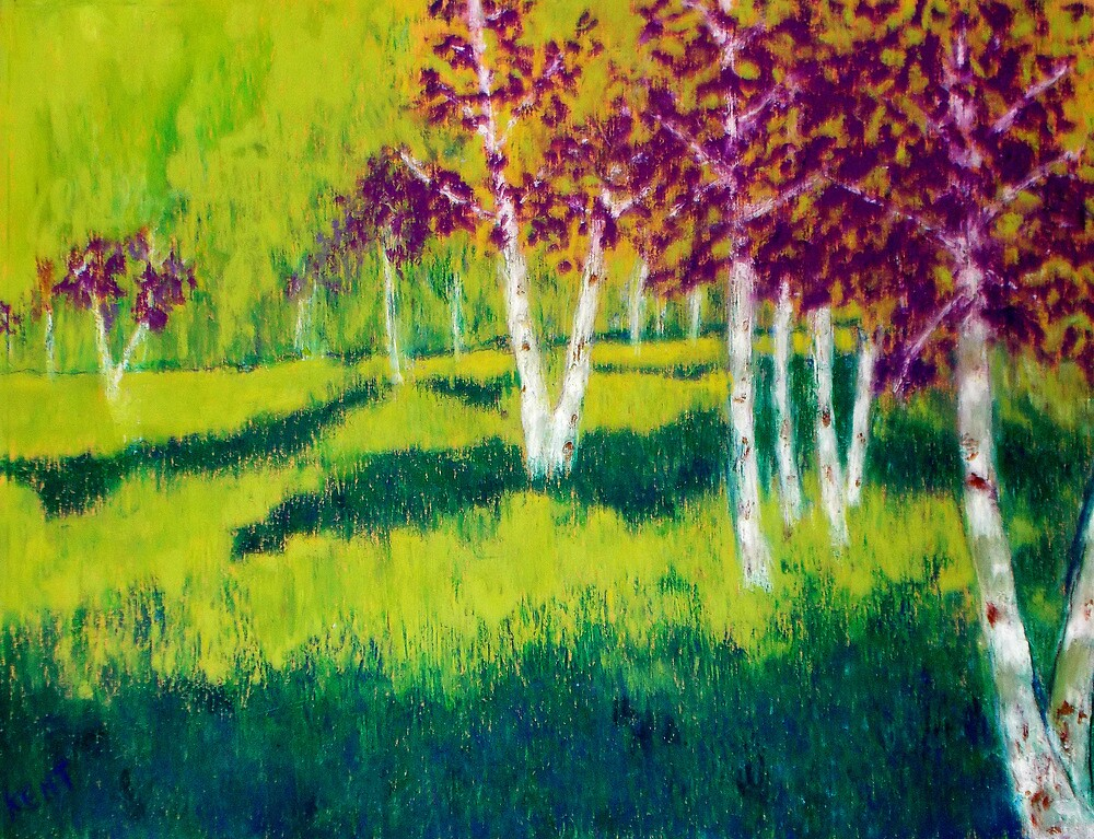 The Birch Grove by Kent  Whitaker