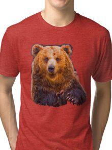 bear - hulk Tri-blend T-Shirt