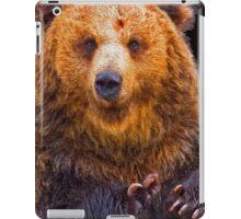 bear - hulk iPad Case/Skin