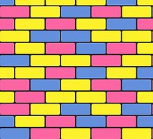 colorful bricks by Marishkayu
