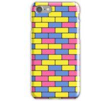 colorful bricks iPhone Case/Skin