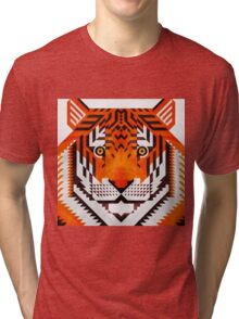 Triangle Tiger Tri-blend T-Shirt