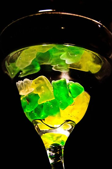 Glass 'n' Gummies by emily fields