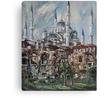 Istanbul - The Blue Mosque Canvas Print