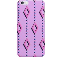 pattern with rhombuses iPhone Case/Skin