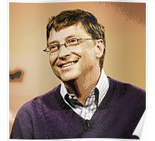 celebrities  bill gates 2 Poster
