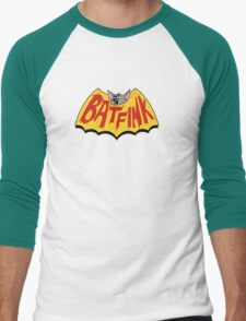 """Batfink - """"My wings are like a shield of steel!"""" Men's Baseball ¾ T-Shirt"""