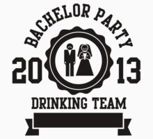 bachelor party drinking team 2013 by Cheesybee