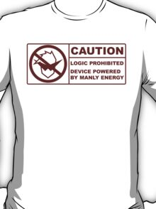 Powered By Manly Energy T-Shirt