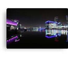 salford quays bbc Canvas Print