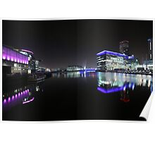 salford quays bbc Poster