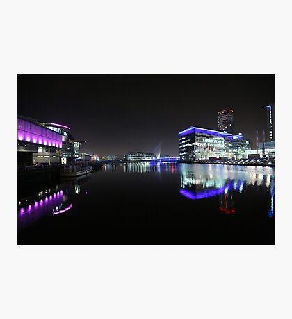 salford quays bbc Photographic Print