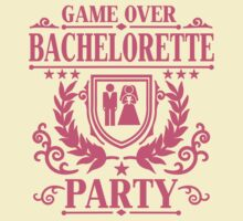 Bachelorette Party Game Over by Cheesybee