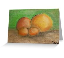 Citrus family Greeting Card