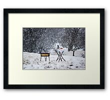 Winters Soliloquy Framed Print