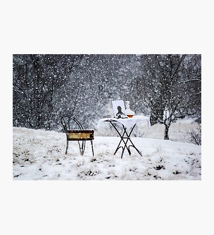 Winters Soliloquy Photographic Print