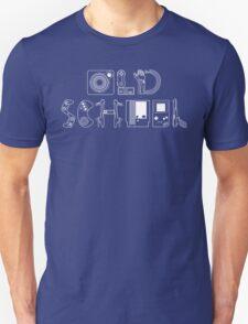 Old School Gamer (White Type) Unisex T-Shirt