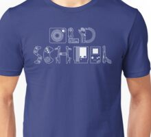 Old School Gamer (White Type) Unisex T-Shirt