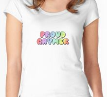 Proud GAYmer Women's Fitted Scoop T-Shirt
