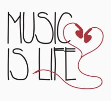 Music is Life by Cheesybee