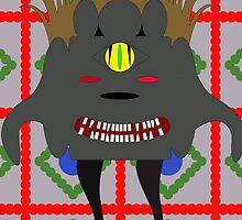 evil monster by Marishkayu