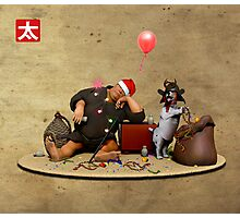 December: Christmas Photographic Print
