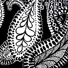 CEM-Black-White-002-Contemporary Ethnic Mix by Pat - Pat Bullen-Whatling Gallery