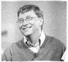 celebrities bill gates Poster