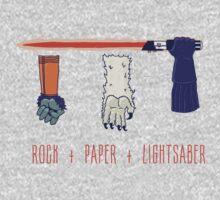 Rock Paper Lightsaber Kids Tee