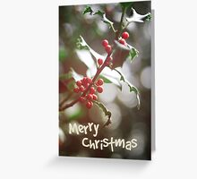 Christmas Berries II Greeting Card