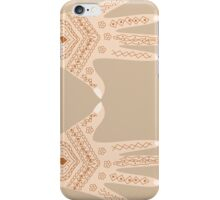 hand with henna iPhone Case/Skin