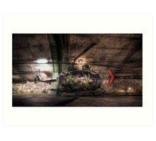 """Helikopter 9"" Art Print"