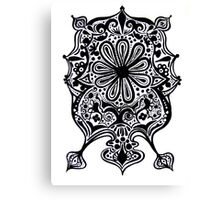 CEM-Black-White-008-Contemporary Ethnic Mix Canvas Print