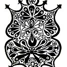 CEM-Black-White-009-Contemporary Ethnic Mix by Pat - Pat Bullen-Whatling Gallery