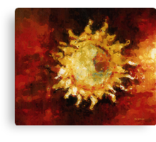 Flaming Out Canvas Print