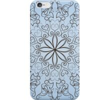 round ornate iPhone Case/Skin