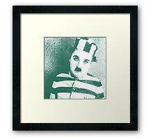 celebrities  charlie chaplin Framed Print