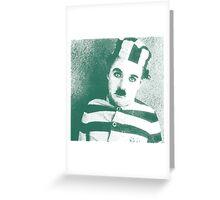 celebrities  charlie chaplin Greeting Card