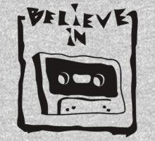 believe in cassette by Cheesybee