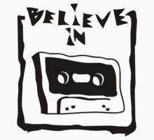 believe in cassette Baby Tee