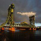 The Tees Newport Bridge, Middlesbrough by PaulBradley