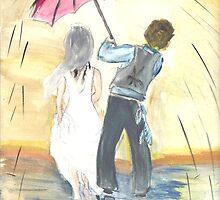 Watercolor Wedding by Kae'tî Stolarski