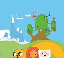 Adventure time x spirited away  by elliepop