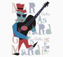 Mardi Gras Kids Tee