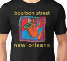 Mardi Gras Bourbon Street New Orleans Unisex T-Shirt